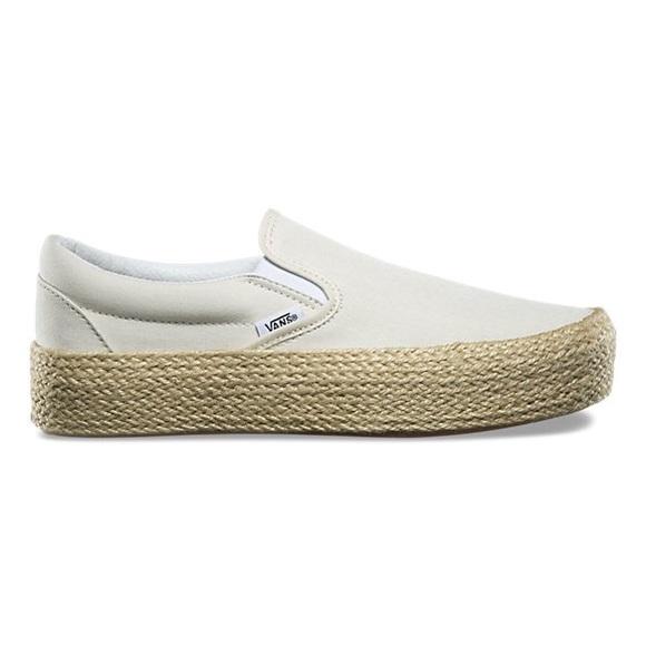 nib   Vans Slip-On Platform Espadrille Sneaker 656919bdb